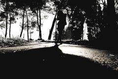 shadowing Στοκ εικόνες με δικαίωμα ελεύθερης χρήσης