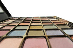 Shadows. Eyeshadow compact Royalty Free Stock Photography