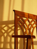 Shadows. Sun and chair Royalty Free Stock Photo