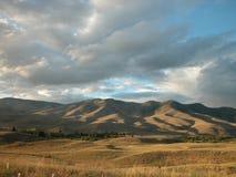 Shadows. Hills arround Montana/Idaho border Stock Photos