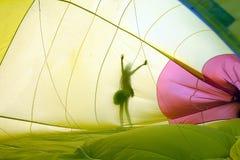 Shadows balloon Royalty Free Stock Images