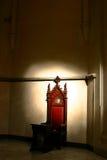 shadows biskopsstolen Arkivfoto