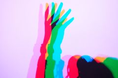 Shadows by CMYk stock images