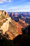 Shadows Falling On The Grand Canyon Stock Images
