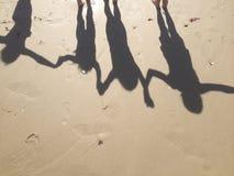 4 shadows royalty free stock photo