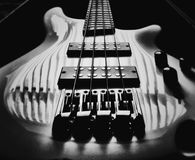 Shadows guitar royalty free stock images