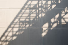 Shadows of house roof beam. Stock Photography