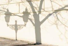 Shadows of Prague Royalty Free Stock Photos