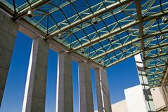 Shadows - Parliament House Stock Photos