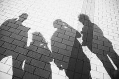 Shadows royalty free stock photography