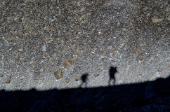Shadows on the rocks Stock Photo