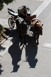 Shadows in Rothenburg Royalty Free Stock Photo