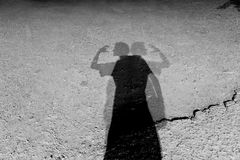 Shadows Royalty Free Stock Image