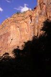 Shadows and steep cliff faces Stock Photos