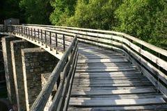 Free Shadows Walking On A Bridge Royalty Free Stock Images - 8598339