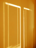 Shadows on the wall Stock Photography