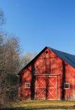 Shadowy Barn Stock Photography