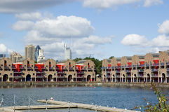 Shadwell Basin, East London Royalty Free Stock Image