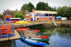 Free Shadwell Basin Outdoor Activity Centre London Great Britain Royalty Free Stock Image - 112979376