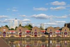 Shadwell handfat, London Arkivfoto