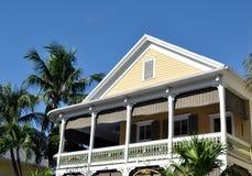 Shady Balcony Royalty Free Stock Images