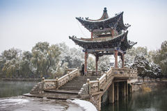 Shady bower on the west lake in hangzhou,China Stock Image