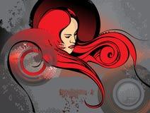 Shady lady Royalty Free Stock Image