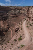 Shafer switchbacks Royalty Free Stock Photography