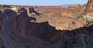 Shafer Trail, Canyonlands National Park Royalty Free Stock Photo