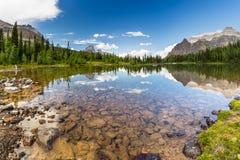 Shaffer湖 图库摄影