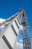 Shaft mine. Shaft tower of a coal mine Stock Image