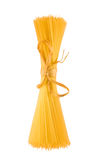 Shaft of spaghetti,isolated on white background Royalty Free Stock Photography