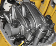 Shaft timing gear. Of internal combustion engine stock images