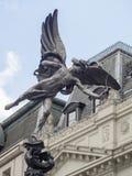 Shaftesbury纪念喷泉,伦敦 库存照片