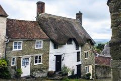 Shaftesbury,多西特,英国,大英国 库存照片