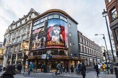 Free Shaftesbury Avenue In London, England, United Kingdom Royalty Free Stock Photo - 130197705