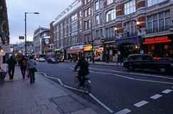 Shaftesbury Avenue, London Royalty Free Stock Image