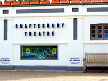 Shaftesbury Theatre, Dawlish, Devon. Royalty Free Stock Photography