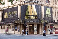 Shaftesbury Theatre Royalty Free Stock Image