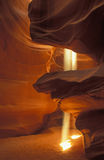 Shafts of Light Upper Antelope Slot Canyon Stock Images