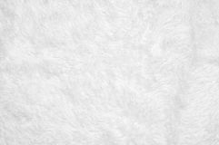 Shaggy blanket texture. White shaggy blanket texture as background royalty free stock photos