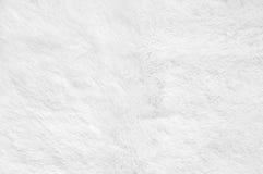 Shaggy fur texture. White shaggy blanket texture as background. Fluffy fake textile fur stock photos