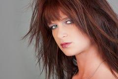 Shaggy hair Stock Photo