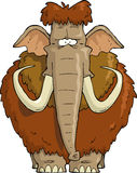 Shaggy Mammoth Royalty Free Stock Image