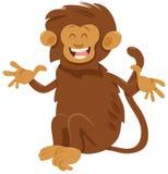 Shaggy monkey animal character Stock Image
