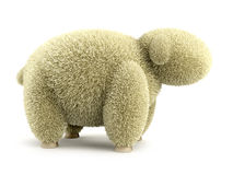 Shaggy sheep 3d Stock Photos