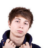 Shaggy Teenager Stock Image