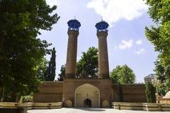 Shah阿拔斯清真寺在Gyandzha 免版税库存照片