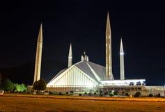 Shah费萨尔清真寺伊斯兰堡 免版税库存图片