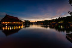 Shah ALam Lake. The only big lake in shah alam, selangor, malaysia stock photos